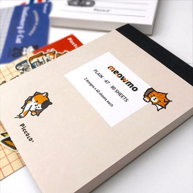 ⭐️ New ⭐️ Meowmo notepads + sticker flakes ! . . . tags . . . #stationery #studygram #studyblr #productivity #sanfrancisco #日本町 #japantown #文房具 #japanesestationery #japan #animals #cats #kitten