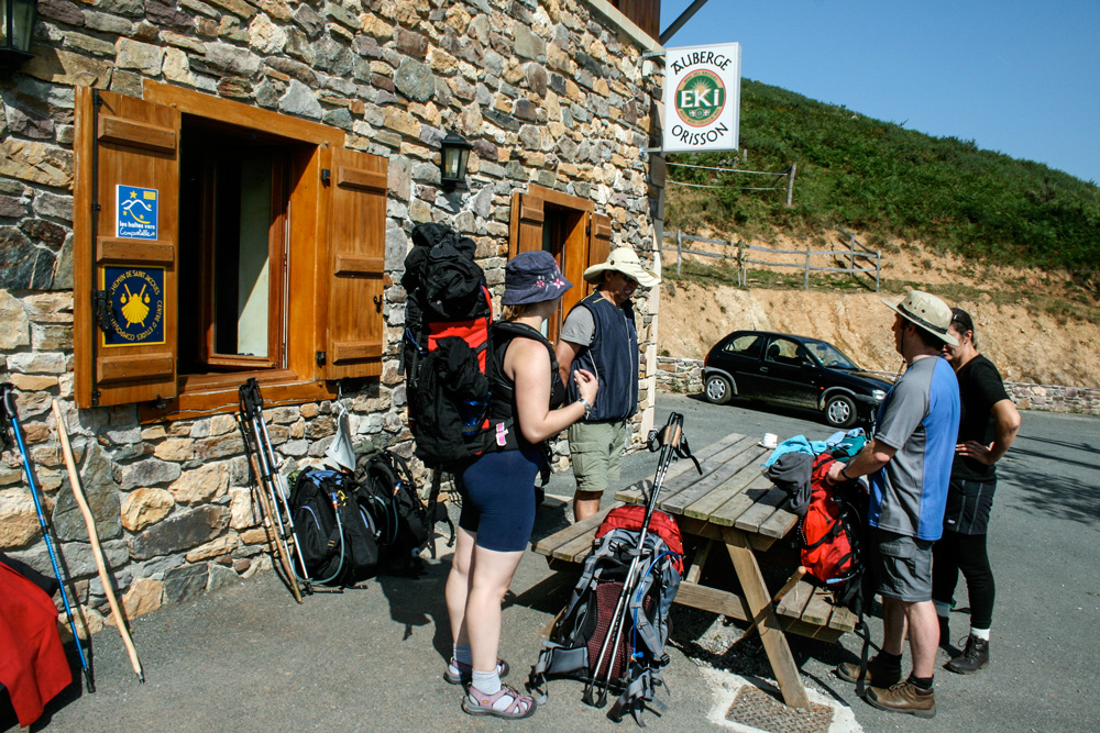 Stopping at Orisson in the Pyrenees