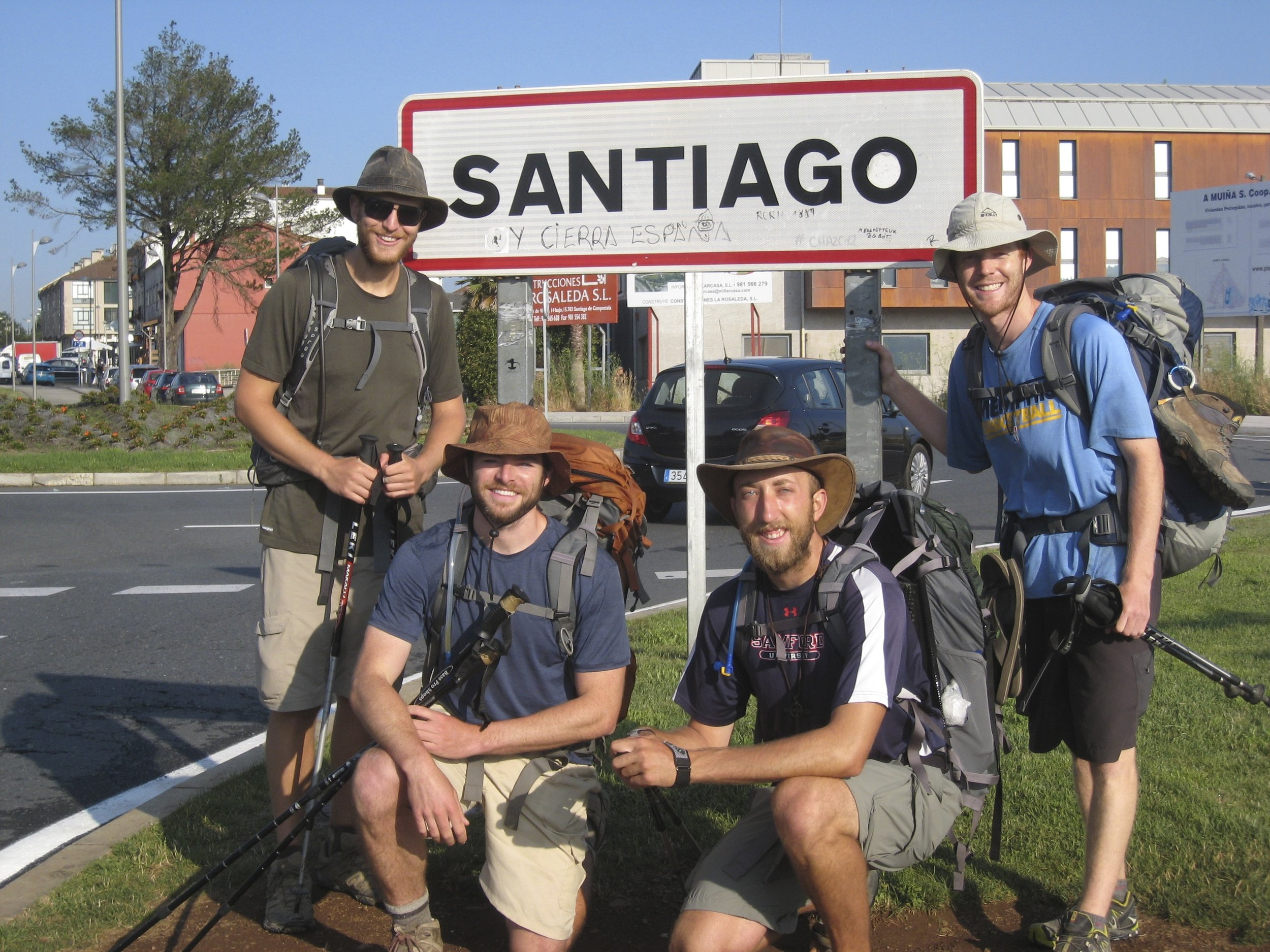 The shared experience of being on the Camino with friends can build a bond for a lifetime.