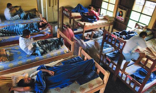 Most pilgrims staying in albergues travel with a sleeping bag or liner.