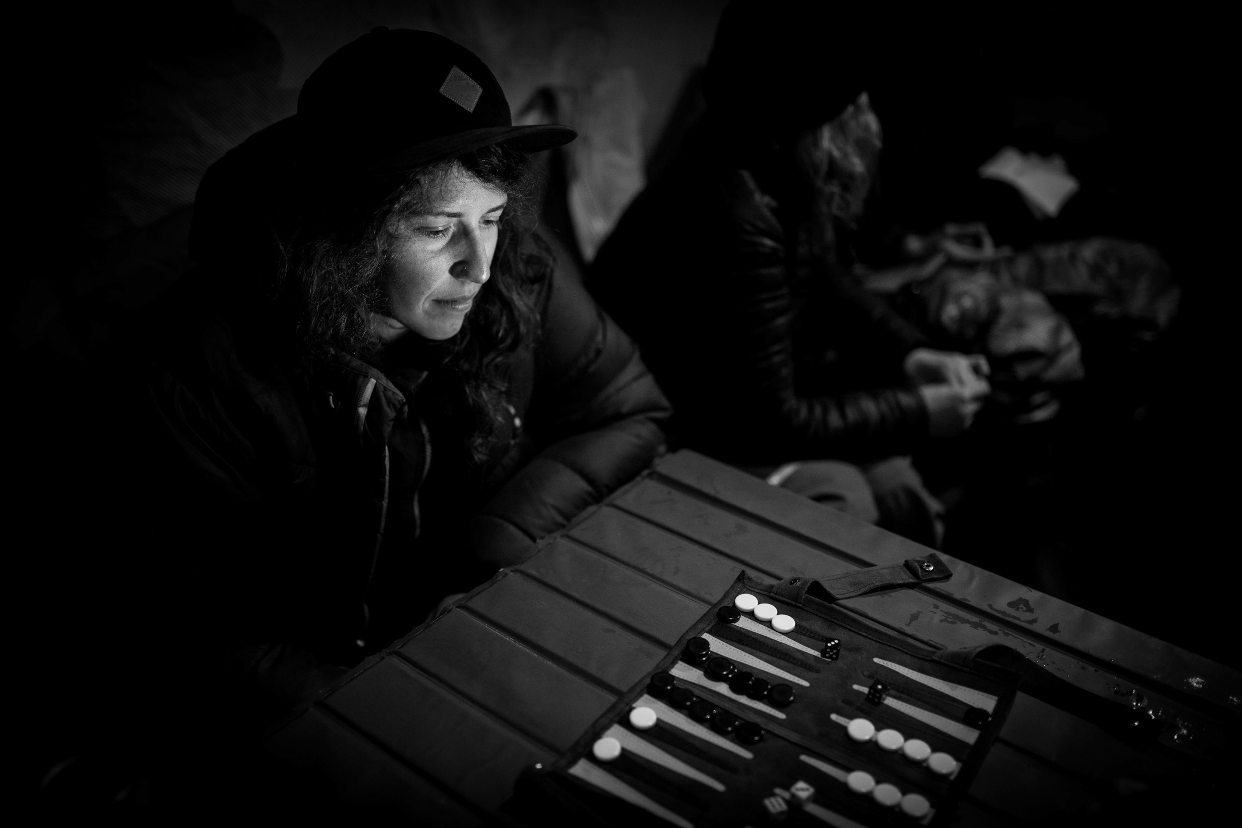 Nat Segal is the backgammon champion of the Chugach