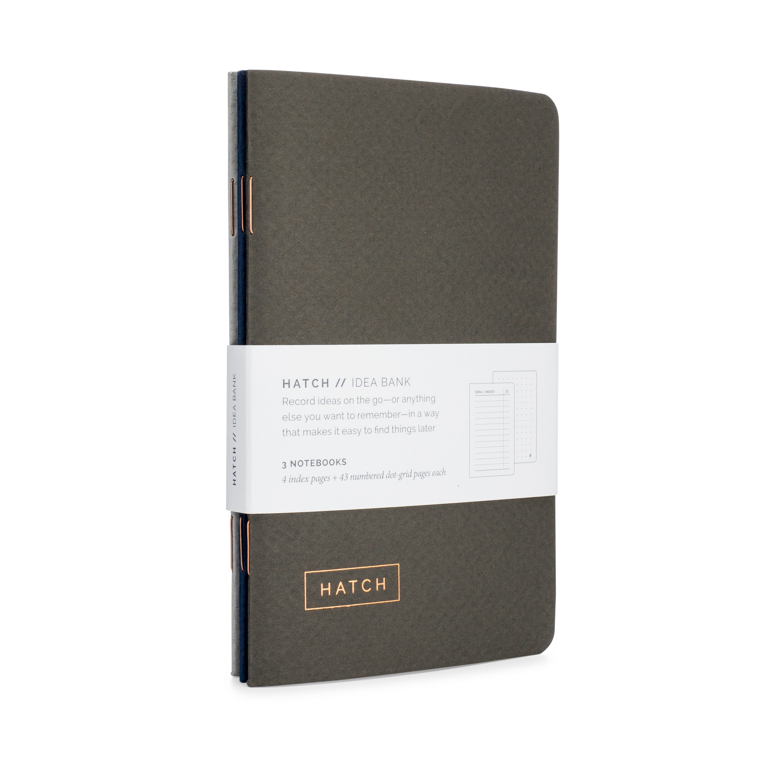 Hatch Idea Bank Pocket Notebook
