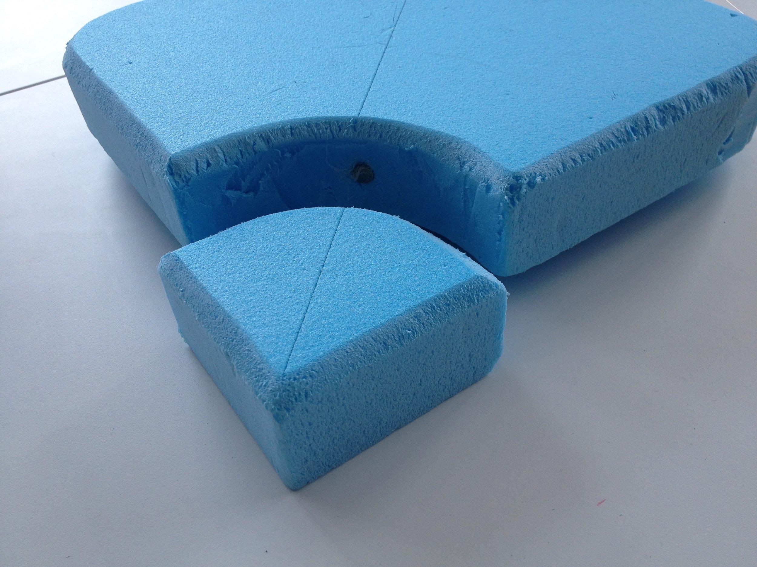 The first foam prototype
