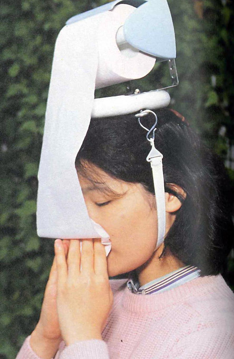 Hay fever hat