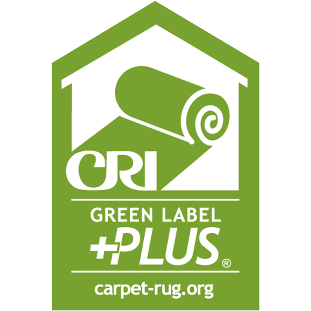 Green Label Plus - Royal American's 80% wool / 20% nylon Axminster Carpet meets the standards of The Carpet and Rug Institute's Green Label Plus program. This program is designed to help identify products with very low emissions of Volatile Organic Compounds (VOCs).