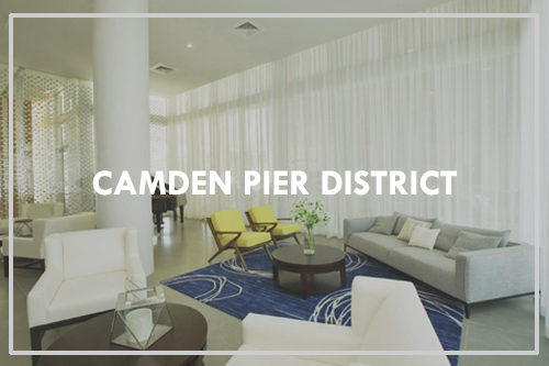 Camden Pier District Apartments - Hand-Tufted Area Rugs