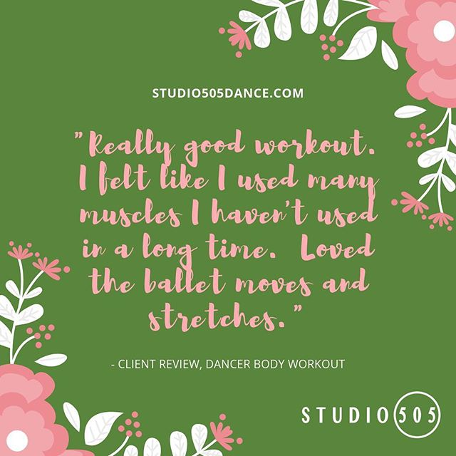 #feedbackfriday 🙏💗🌸 Happy Easter and Passover!  We will be closed Sunday 4/21 and will have a modified schedule on Saturday 4/20.  Please check our online schedule for details.  Classes will be back in full swing on Monday. • • #bayareadanceclass #sanfranciscodanceclasses #studio505dance #danceconditioning #dancebasedfitness #danceforeveryone #fitnessforeveryone