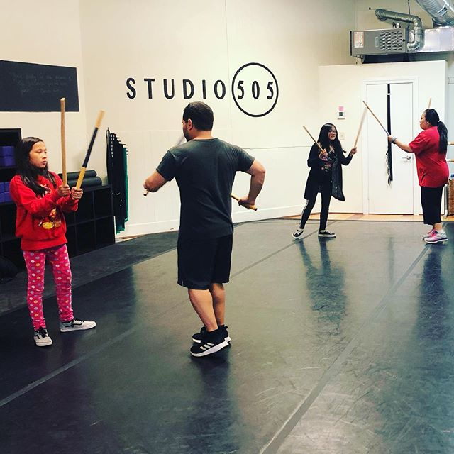 Friday night All ages Eskrima with Matt. Learn applicable self defense techniques in a supportive environment. #Eskrima #filipinomartialarts #sanfranciscomartialarts #studio505