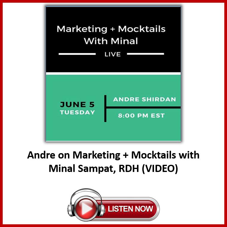 Marketing + Mocktails with Minal Sampat