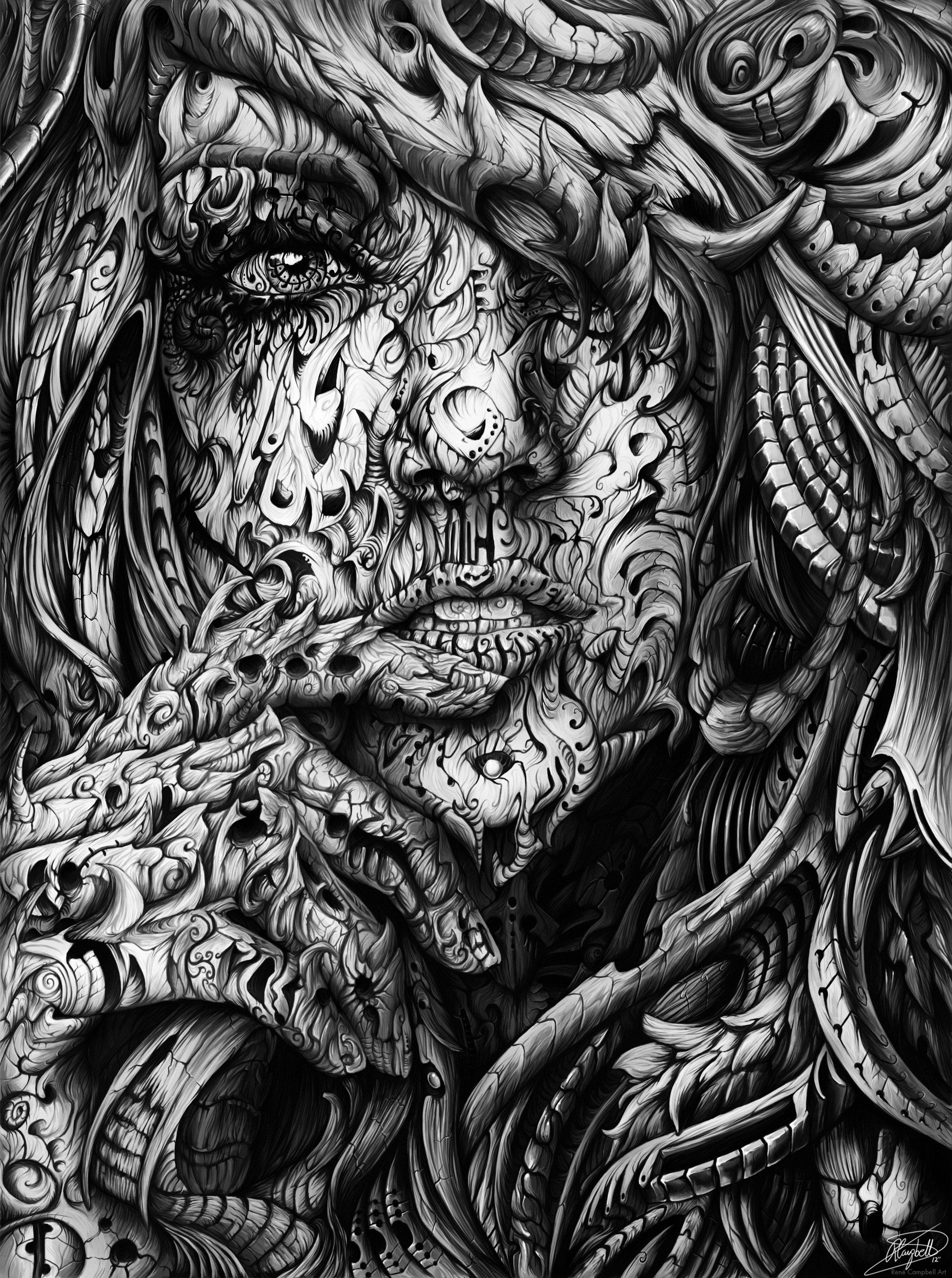 High Detail Digital Portrait: ~$400 +