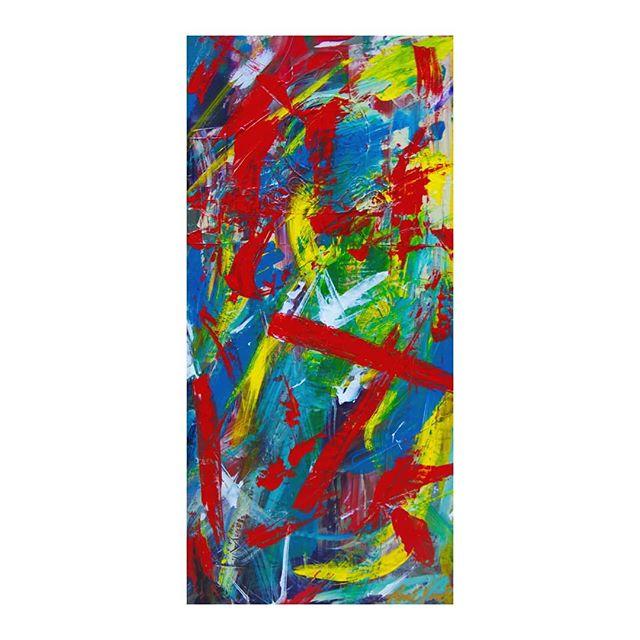"""Letting Go"" 15 x 30  #abstractart #abstractpainting #expressionism #dcarts #dcartist #workingartist #emergingartists #rawartists #workhouseartscenter #ffx #archesgallery #vaartist #artblog #lgbtartists #veteranartist #veteranartwork #ptsdawareness #mentalhealthawareness #acrylicpaint"