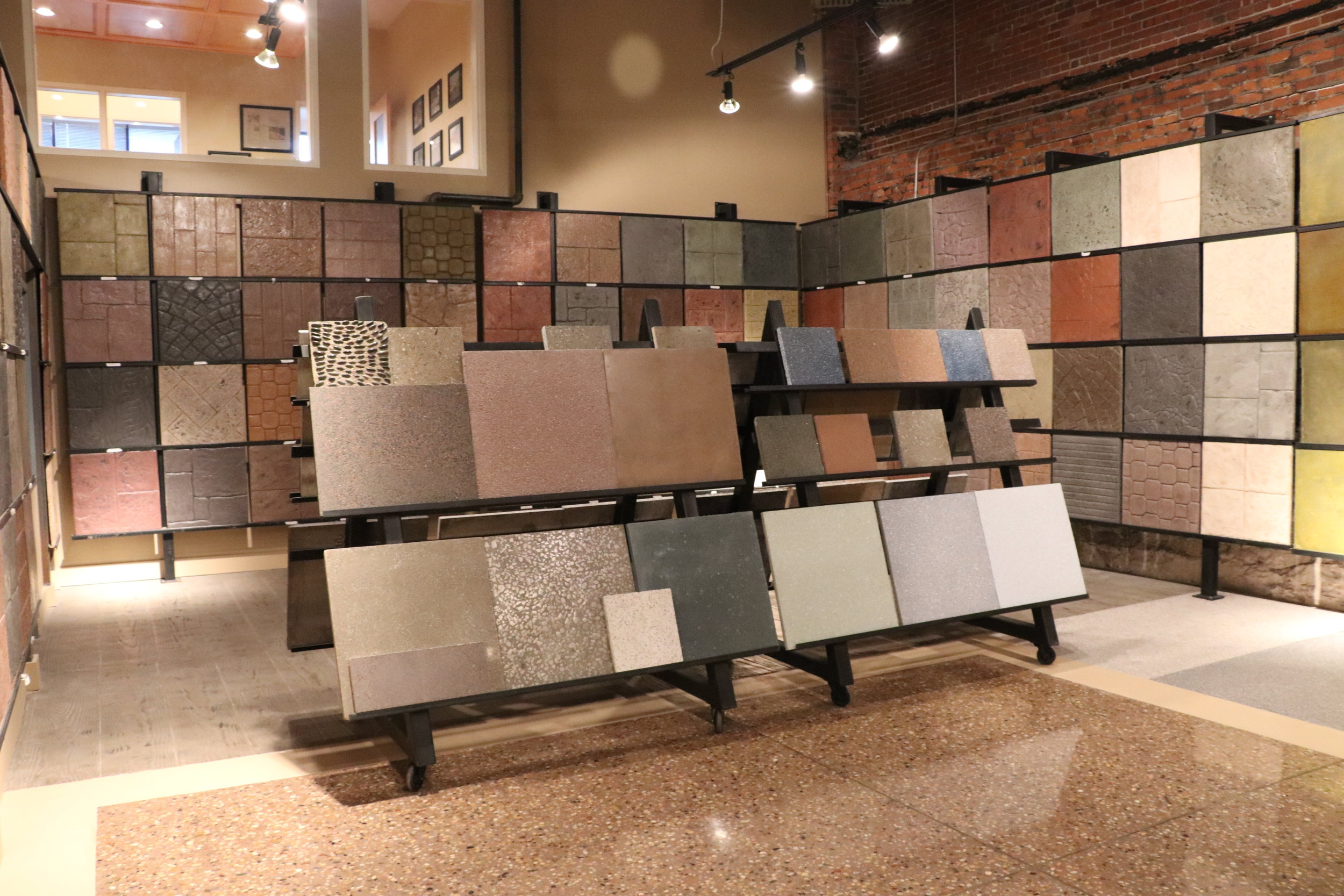decorative concrete samples