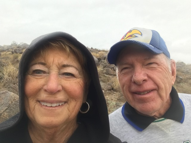 Hiking Camelback Mountain in the Rain