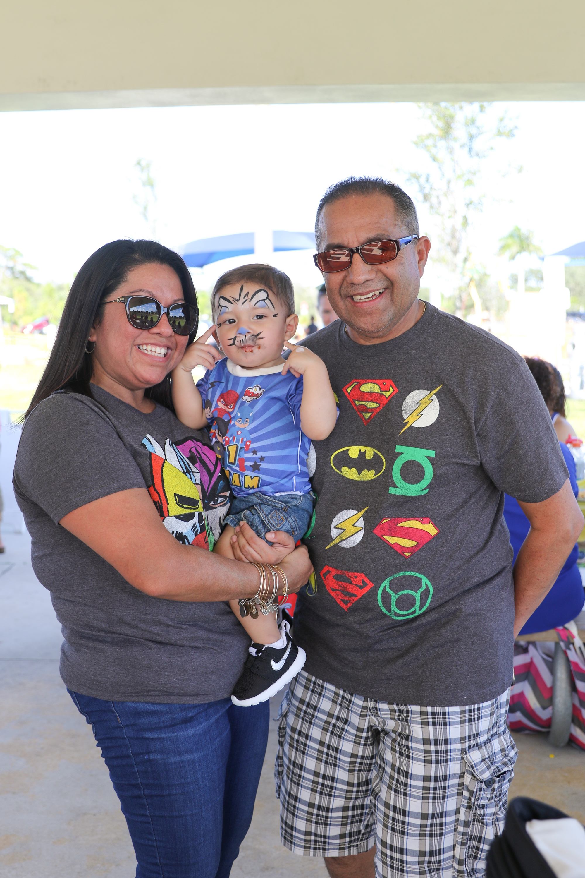 Comic Book Superheroes 1st Birthday Bash | Nicole Wallace Photography