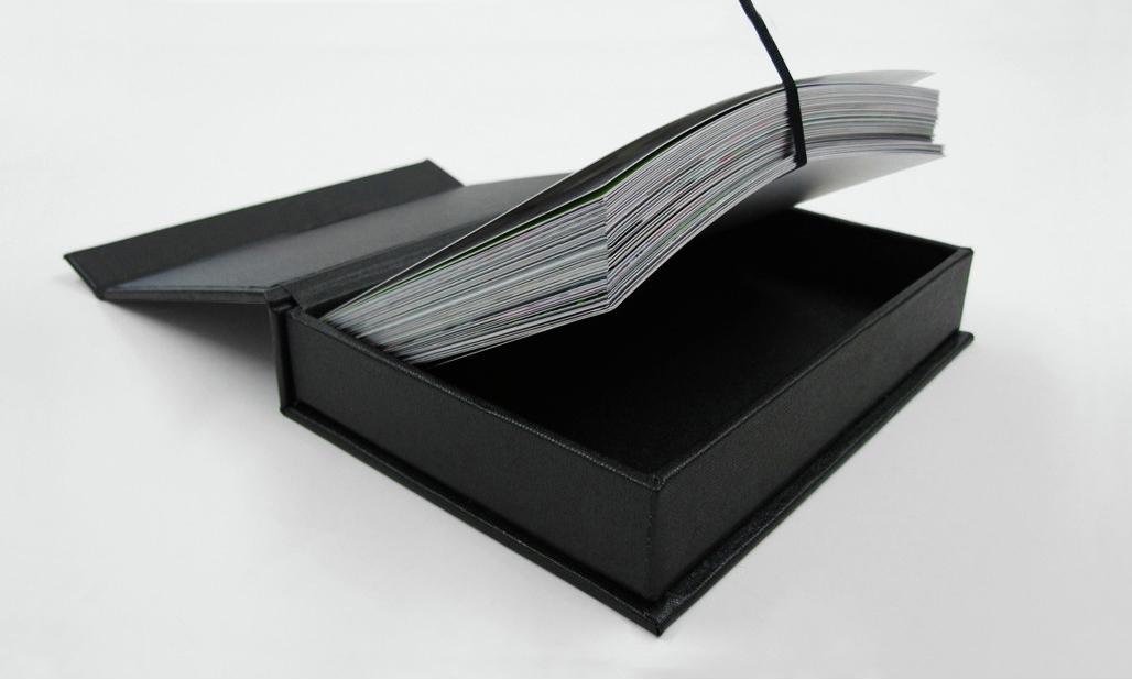 Box of Prints with Ribbon