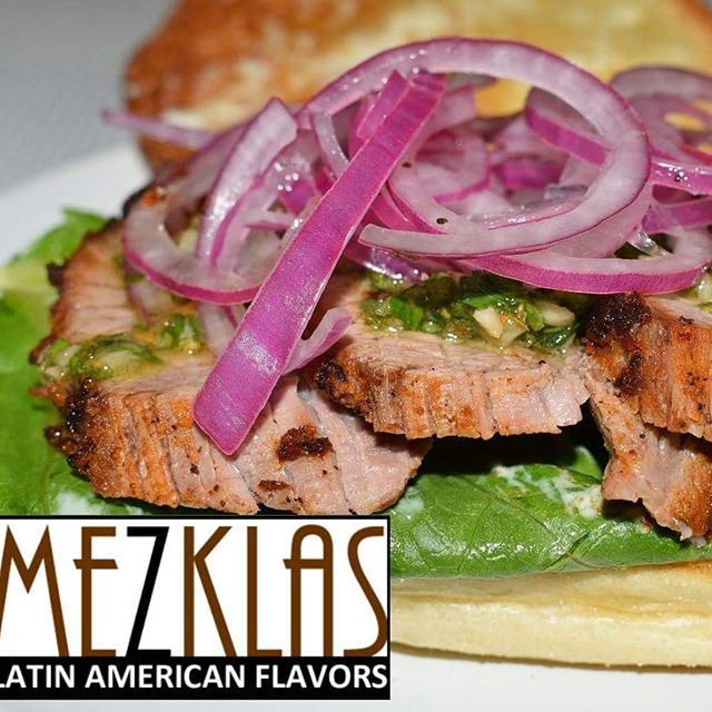 Happy Monday!  Tomorrow Tuesday 5/21 we're making Tri Tip sandwiches with Chimichurri sauce and Shrimp ceviche.  #eatmezklas #eatbetter #realfood #mezklascatering #latinfood #latinflavors #yummy #tasty #foodie #vallejofoodie #vallejo #sfbayarea #solanocounty #tritip #chimichurri #pickledredonions #cheflife #latinfusion #shrimpceviche #shrimp #camarones #seafood #healthyfood