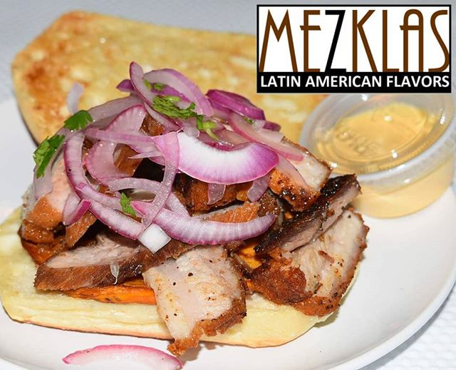 Peruvian flavors deliver to you!  This Tuesday 7/2 we're bringing this Peruvian yum to you.  Pan con Chancho with Aji sauce. Let me know if you want some.  #eatmezklas #eatbetter #realfood #mezklascatering #latinfood #latinflavors #yummy #tasty #foodie #vallejofoodie #vallejo #sfbayarea #peruvianfood #peruvianfusion #comidaperuana #cheflife #awesome #foodlover #craving #ajisauce #pork #chancho #sfbayarea #sffoodie #panconchancho