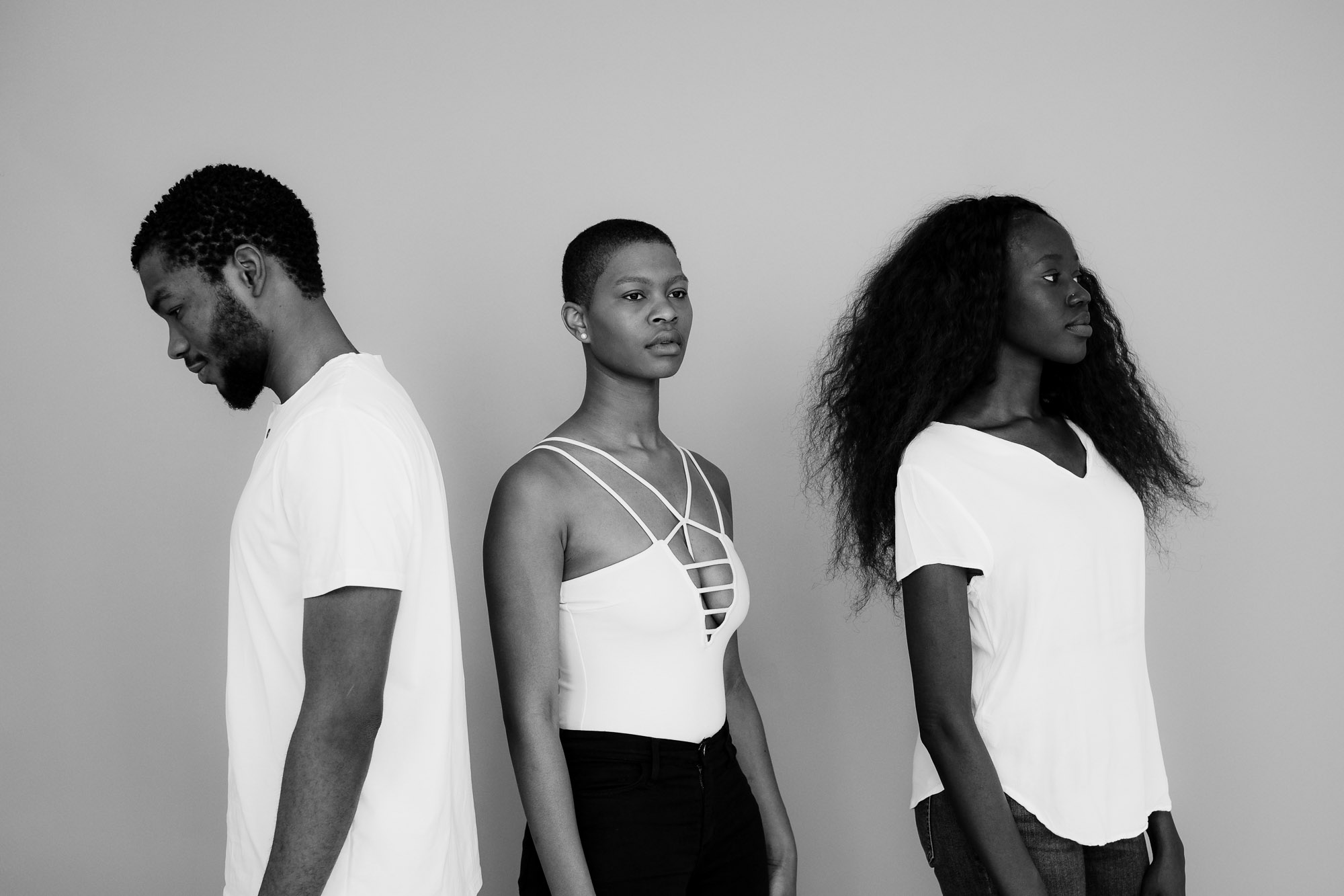 From (L-R): @ justlimitless , @ sinclxr  & @ lulgrace . Directed by @ botchwav . Photographed by @ kwesithethird