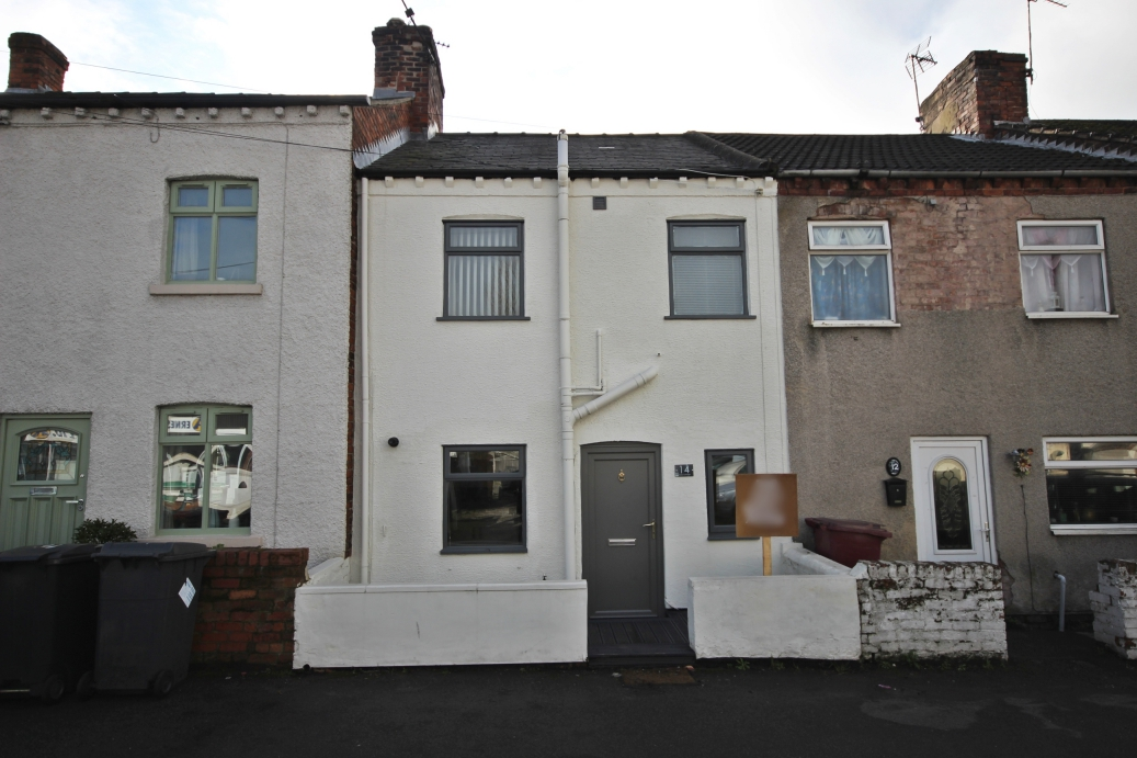 IT'S GONE! - £82,950 Wilson Street, Pinxton, Nottinghamshire, NG16 6LS - 2 BEDROOM TERRACEA charming cottage style property, offering two bedrooms, a dining kitchen, lounge and four piece bathroom, plus a lovely south facing rear garden, all located in the heart of Pinxton. EPC rating D.