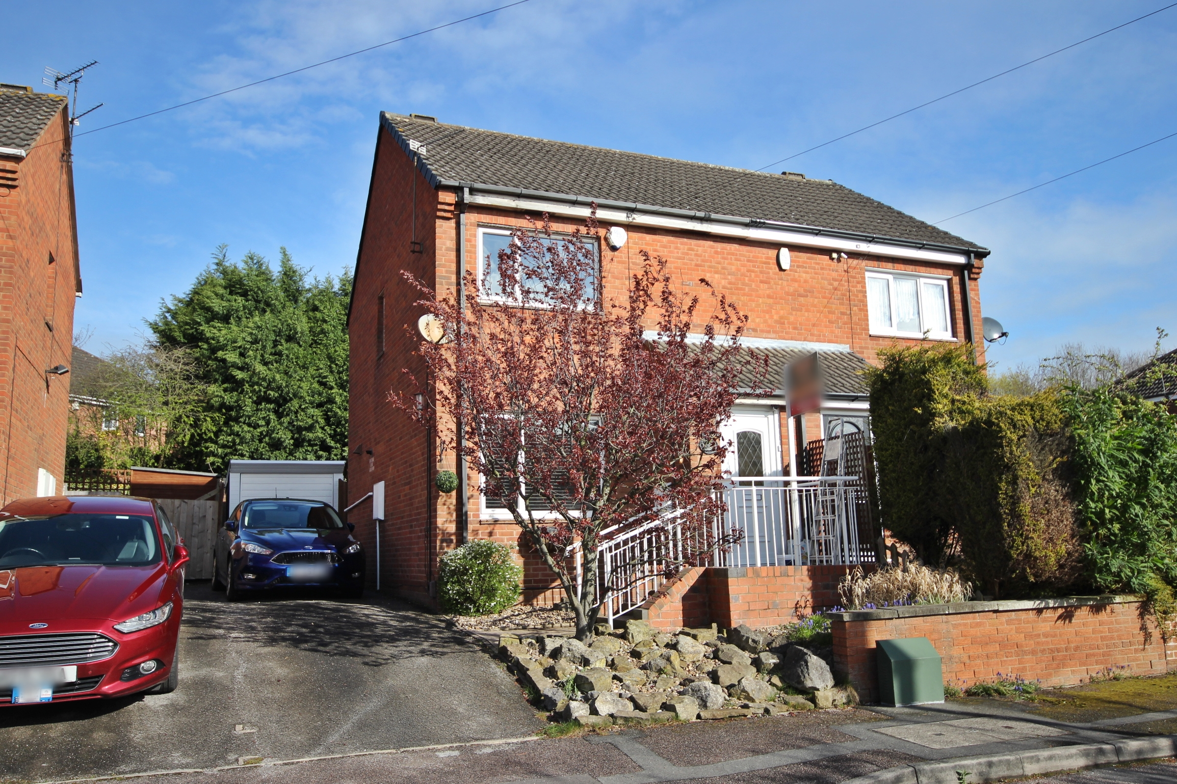IT'S GONE! £550pcm Larchdale Close, Broadmeadows, Derbys, DE55 3NZ - Gorgeous two bed family home currently being redecorated and renovated! Driveway and garage parking, all in a lovely peaceful area. EPC rating C.