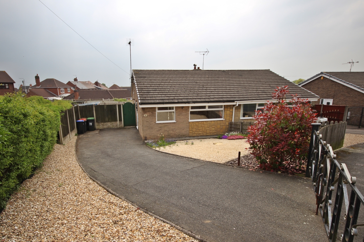IT'S GONE! - £137,000 Nightingale Crescent, Selston, Nottinghamshire, NG16 6QG - 2 BEDROOM SEMI DETACHED BUNGALOWNO ONWARD CHAIN! This charming 2 bedroom semi detached bungalow set on a quiet cul-de-sac is a must-see. Including contemporary shower room, spacious lounge, kitchen, easy maintenance private rear garden and plenty of driveway parking. EPC rating D