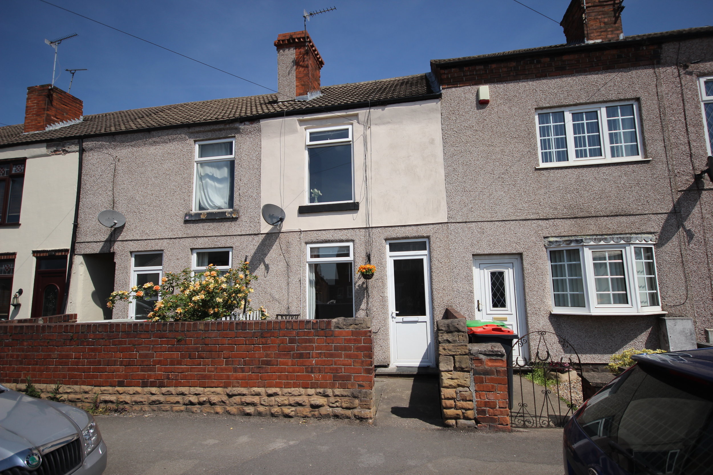 IT'S GONE! £450pcm Alfreton Road, Jubilee, Derbys, DE55 4PB - This beautifully presented property provides a lounge, dining kitchen, ground floor bathroom and two double bedrooms, plus an enclosed rear garden. EPC rating E.