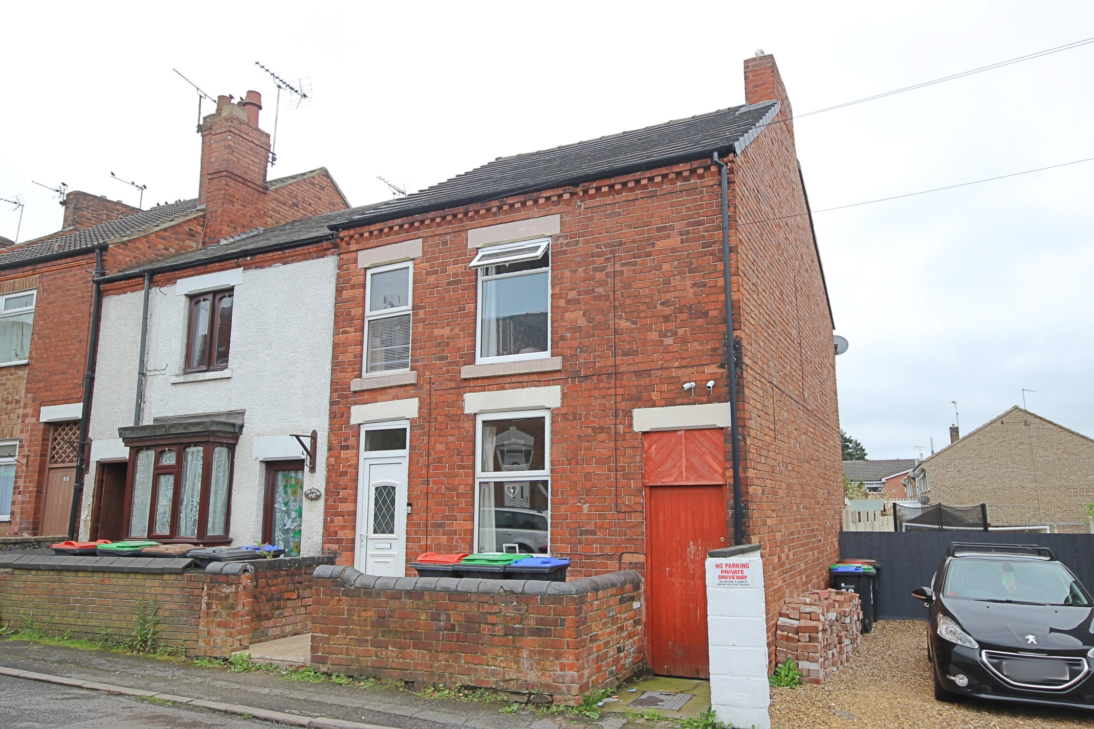 £92,000 Sedgwick Street, Jacksdale, Nottinghamshire, NG16 5JY - 2/3 BEDROOM END TERRACEA great size family home, perfect for first time buyers or investors! Comprising of two receptions, a kitchen, two bedrooms, a dressing room and a modern bathroom, plus a private rear garden all located in the heart of Jacksdale village. EPC rating D.