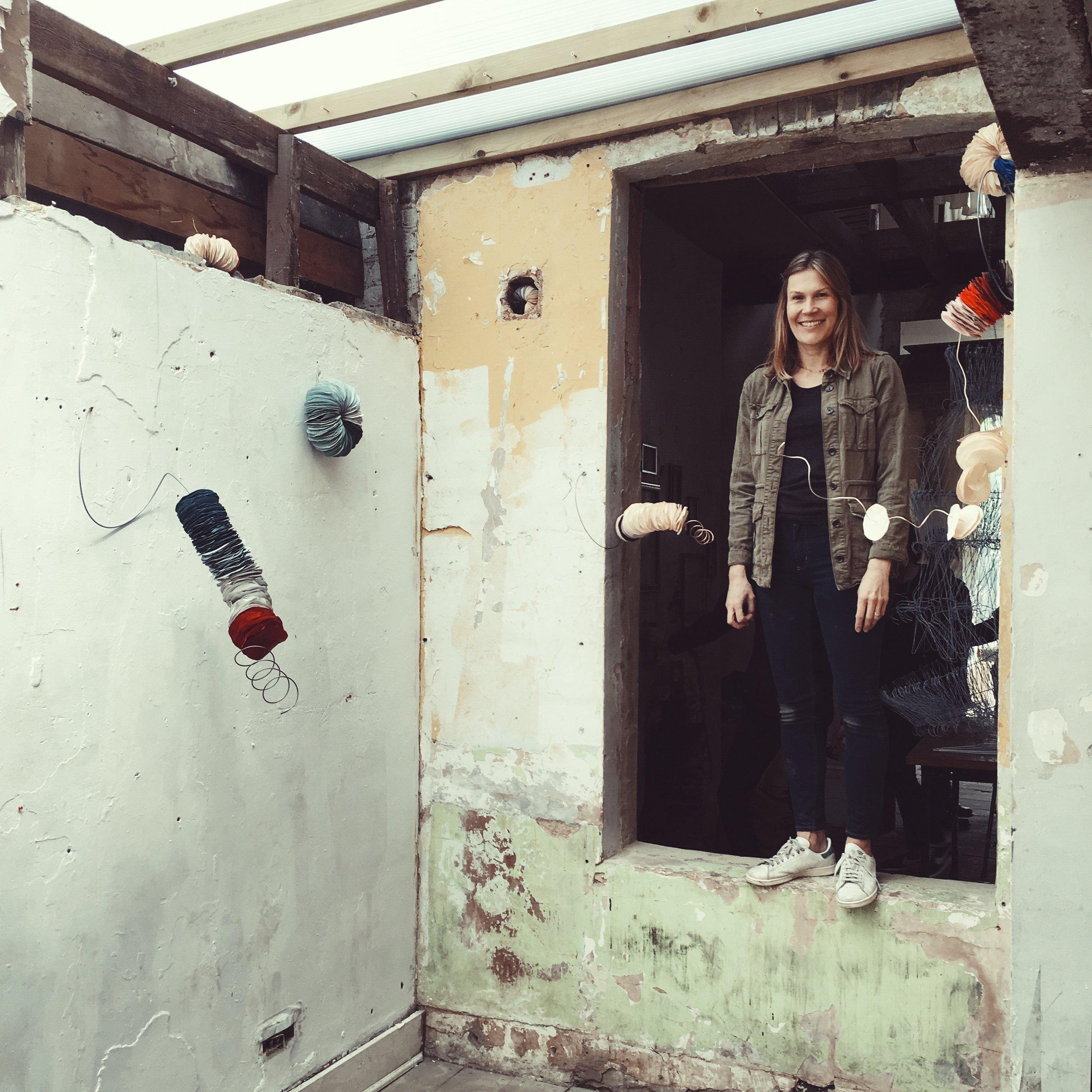 Caroline Popham Safehouse show UAL 2016