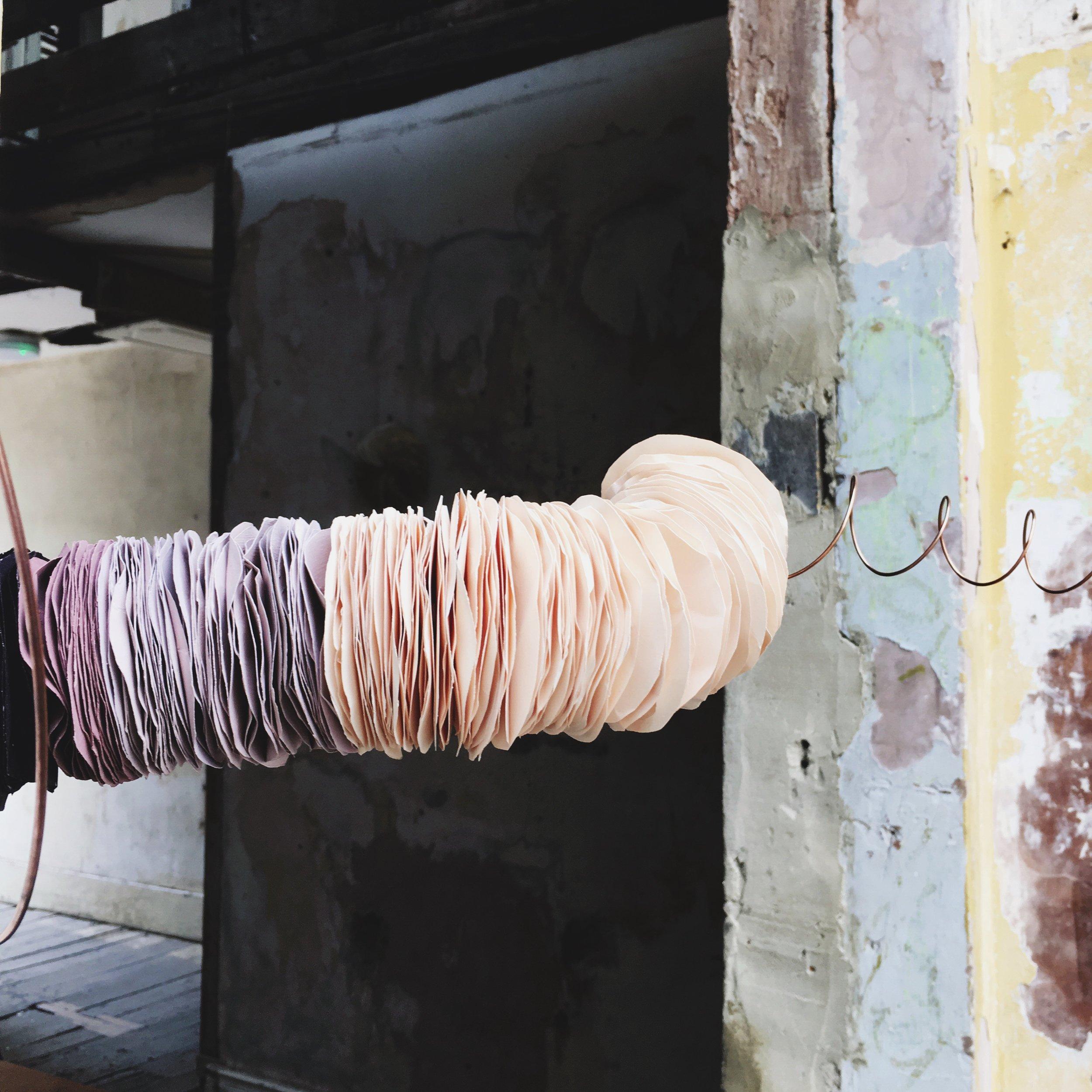 Paper sculpture 2016
