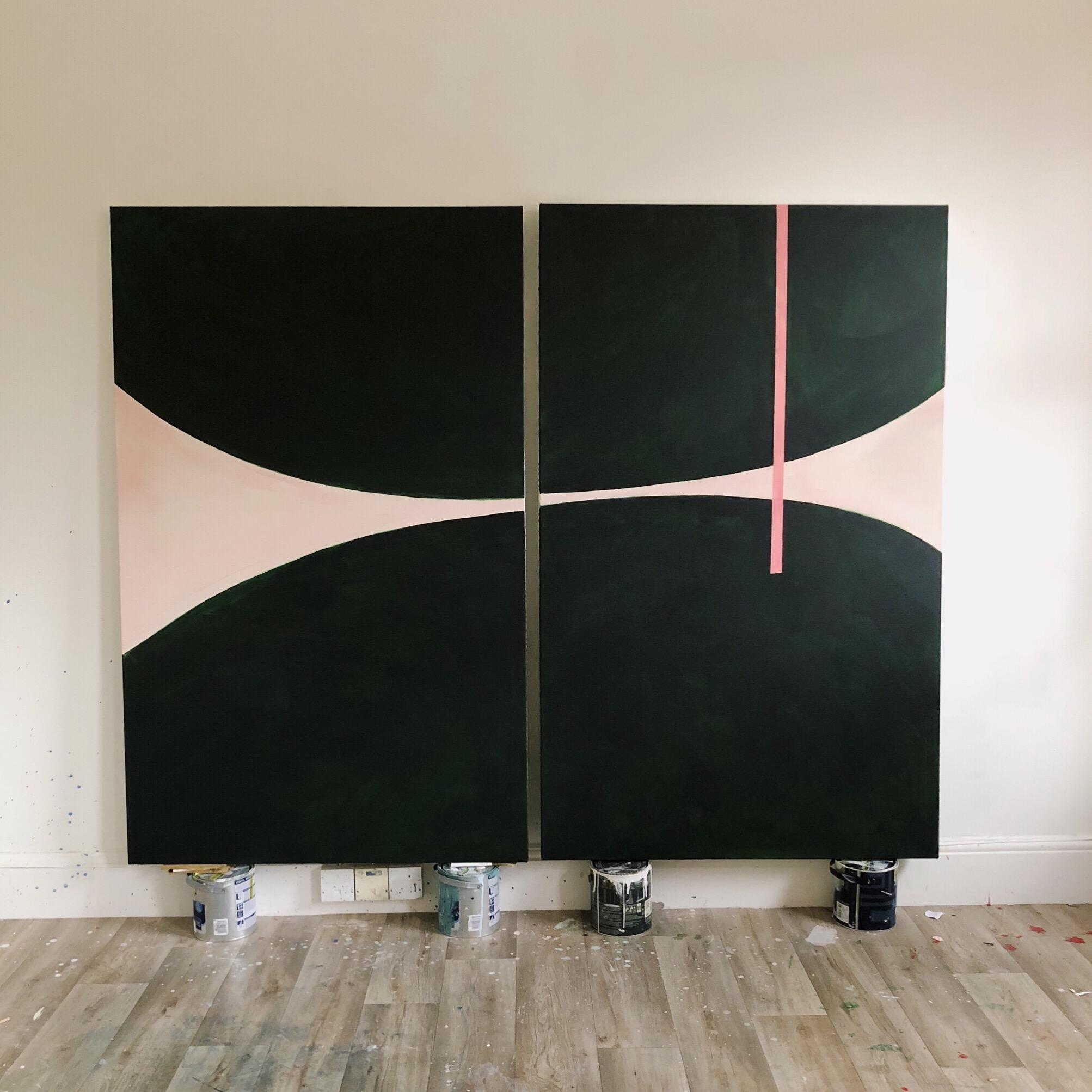 150 x 100 cm each  Acrylic on canvas  Available at Alex Eagle Studio, London W1