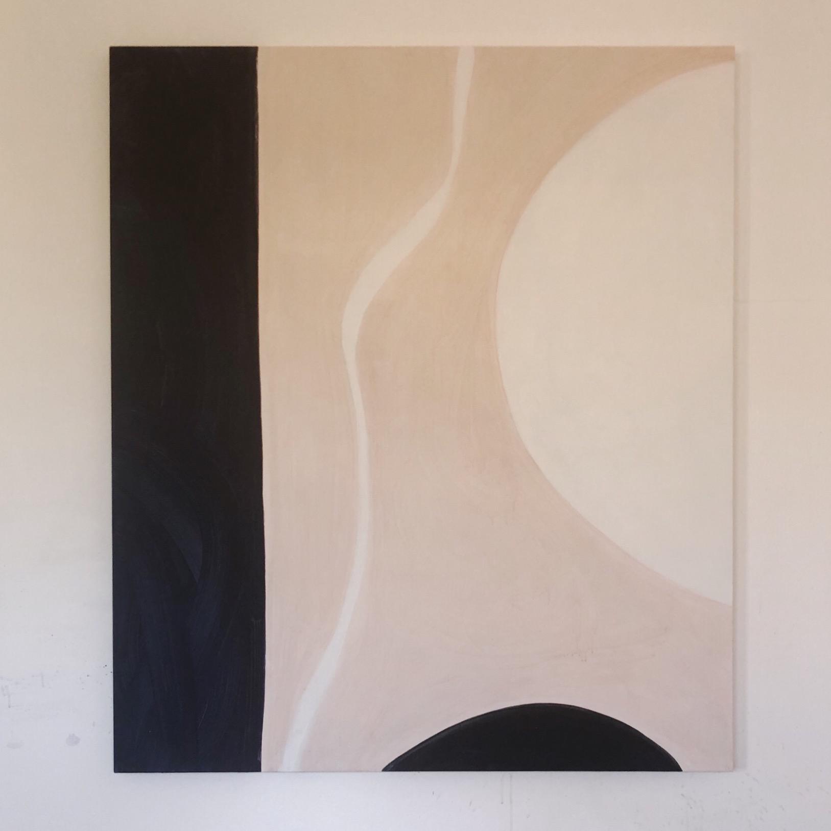 Orbit 2018 140 x 120cm Acrylic and emulsion on canvas