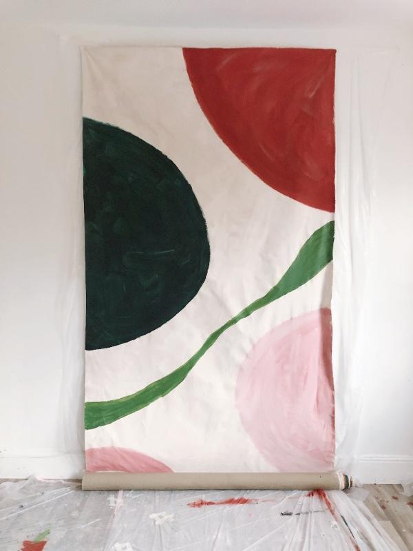 900cm x 150 cm canvas table cloth