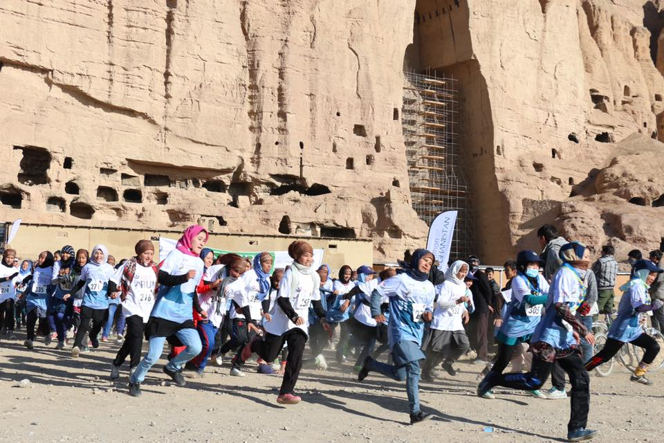 With support from Free to Run, over 100 women and girls participated in the Marathon of Afghanistan and a 10K Race in Bamyan.