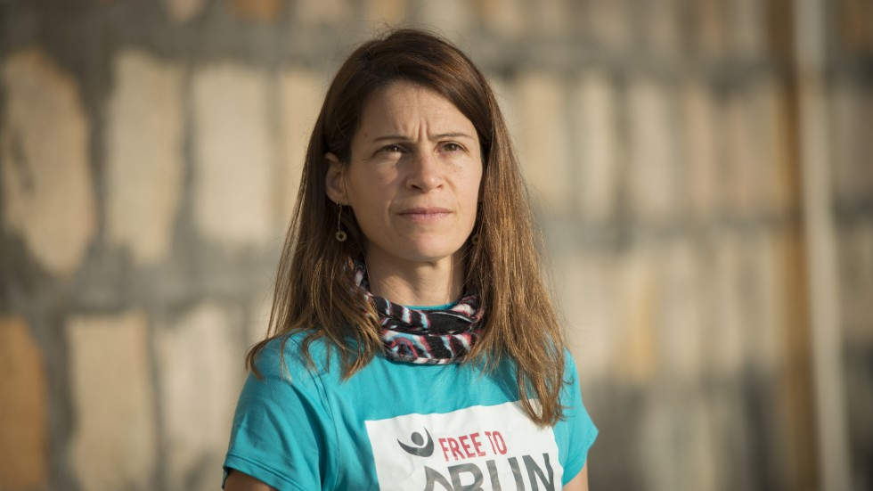 Free to Run Board Member and Refugee Programme Manager, Virginie Goethals