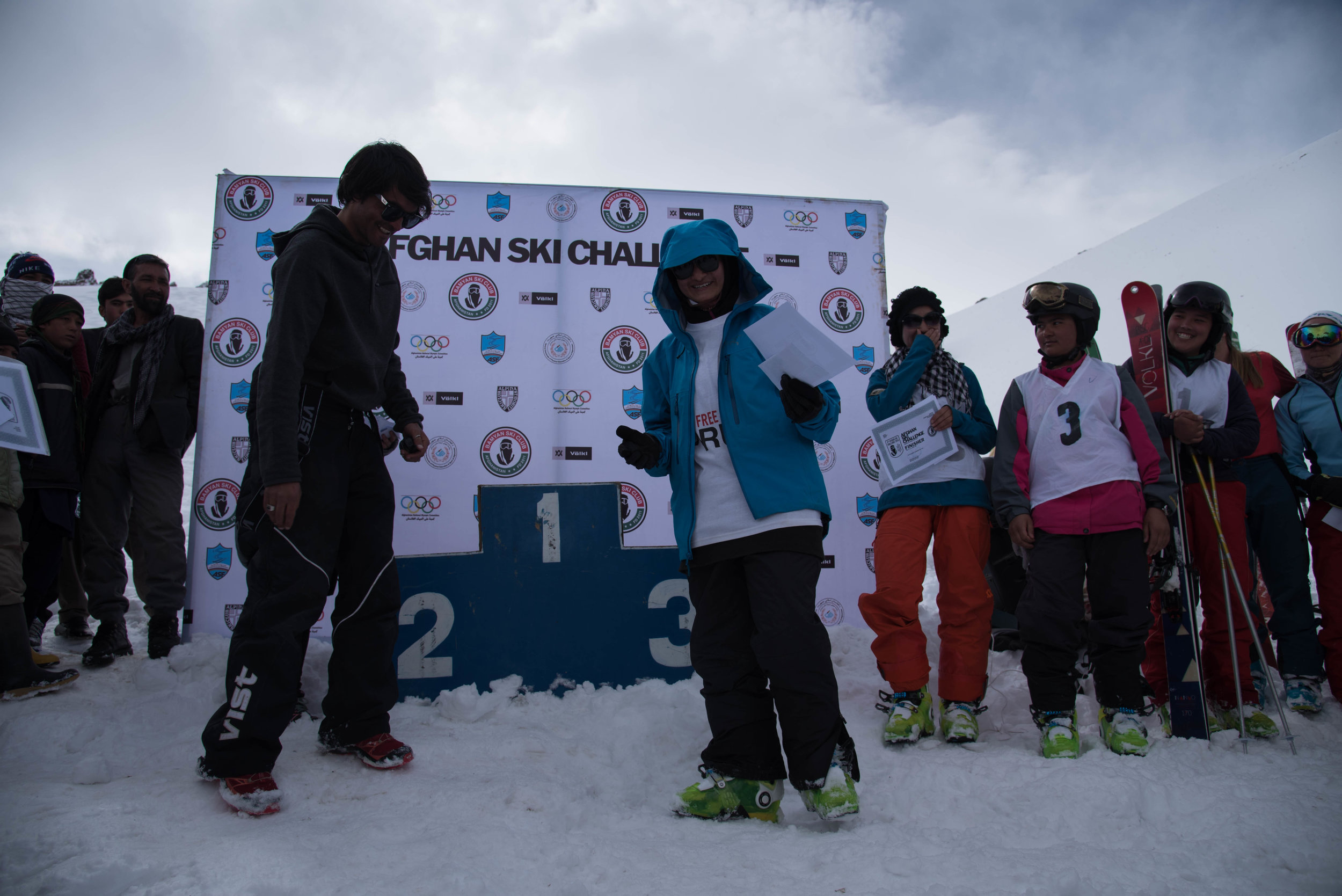 The 8th annual Afghan Ski Challenge.