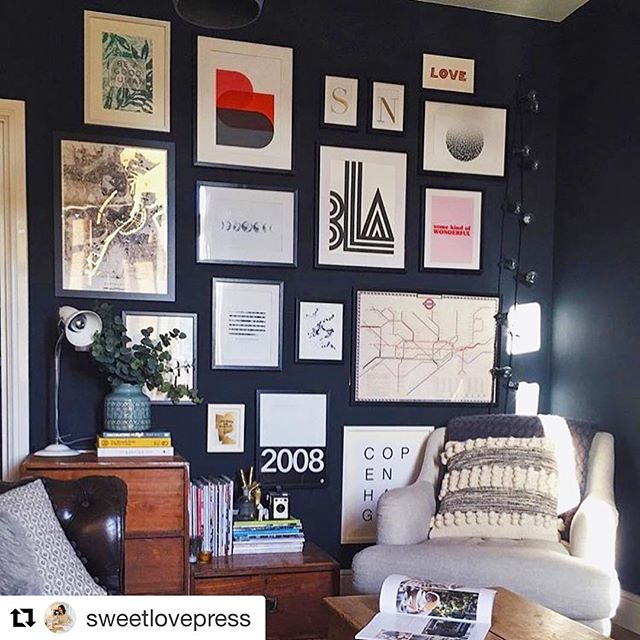 #Repost @sweetlovepress  so nice to see people still enjoying our collaboration! ☺️🙏🏼 ・・・ It's May! And it's so lovely to see a new Sweetlove Press print addition to this gallery wall belonging to @kos.home. My 'Be A Good Human' print from my collaboration with @melissaoughamdesign last year looks right at home 👌🏻 . . . #gallerywall #wallgoals #artwall #livingroomgoals #interiorstyle #instainteriors #interiorinspo #beagoodhuman #collab #prints #artsale #interior #design #print #patten #wallenvy #botanical #tropical #fresh #shopnow #etsy #noths