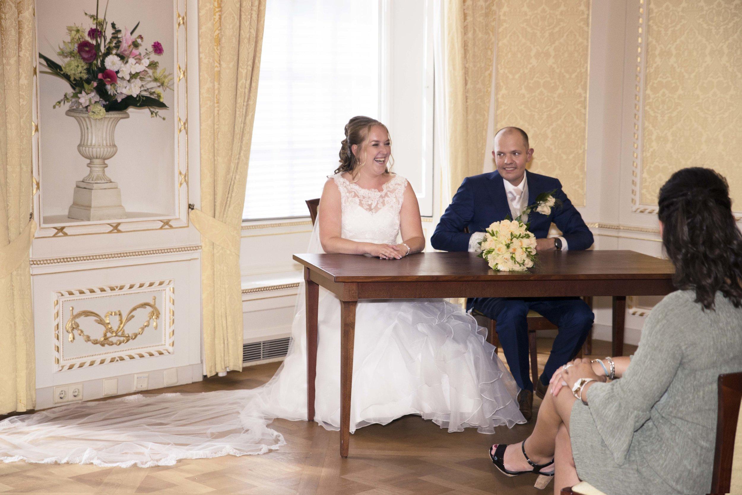 trouwen stadhuis amersfoort trouwfoto's ceremonie