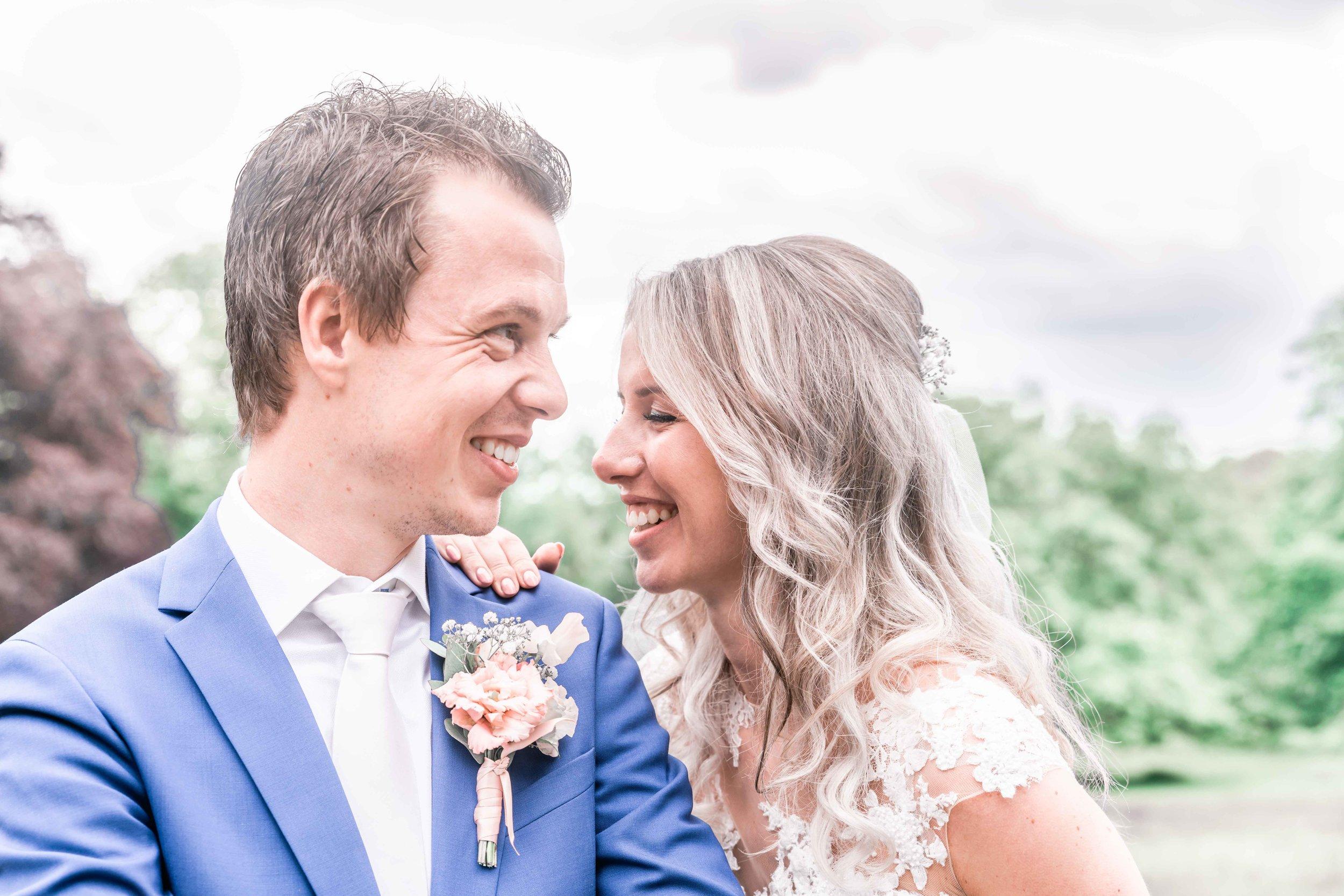 trouwfotograaf - lichte trouwfoto's - bruidreportage ede arnhem amersfoort