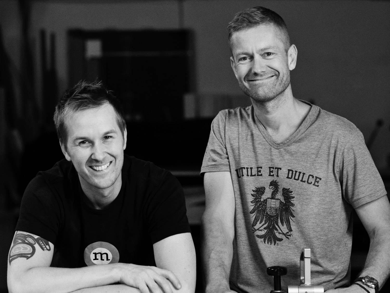 Oprichters en eigenaren Anders & Peter van The Oak Men