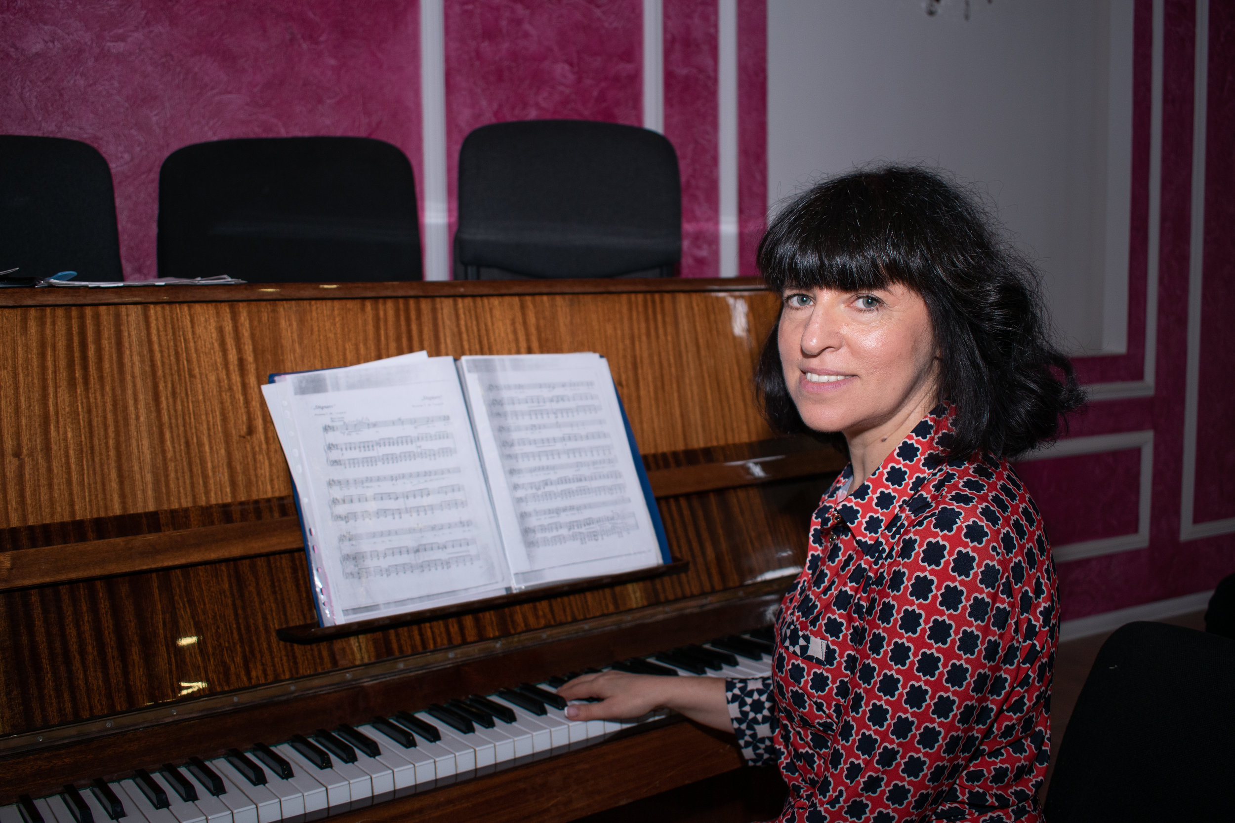 Москалюк Анаїда Тигранівна - вчитель музики, хормейстер