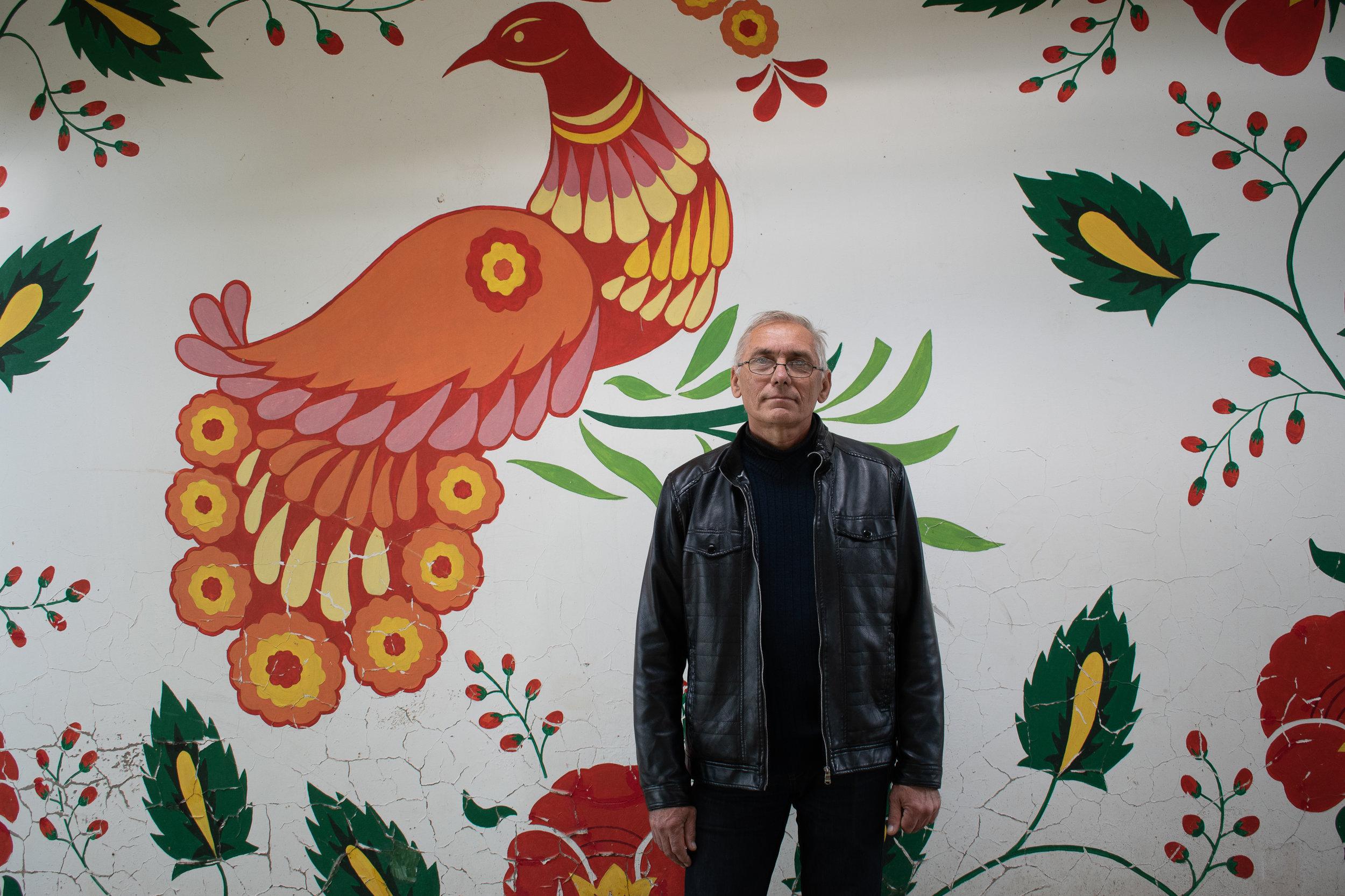 Оніщенко Сергій Миколайович - вчитель малювання