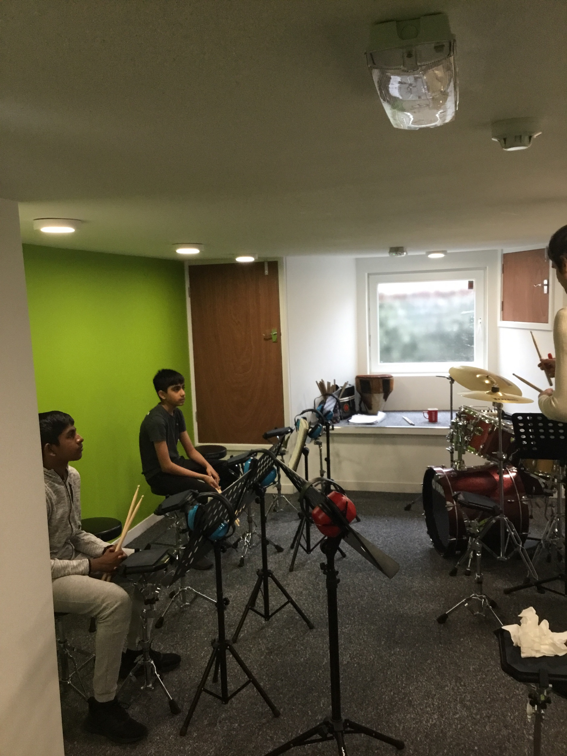 Drum Encounters - Experience the fun of drumming in a group with our Drum Encounters course.