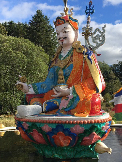 Guru Rinpoche, photo by John Clifford