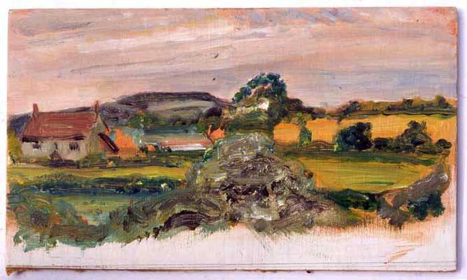 View near Glanvilles Wooton