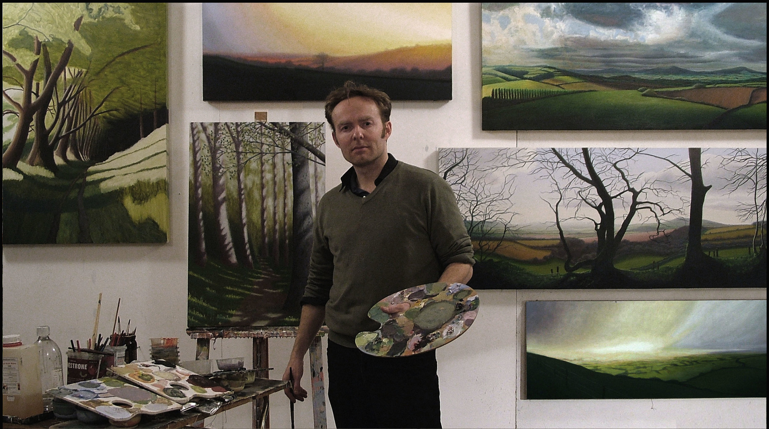 Kit Glaisyer at St Michael's Studios, The Art & Vintage Quarter, Bridport, Dorset DT6 3RR