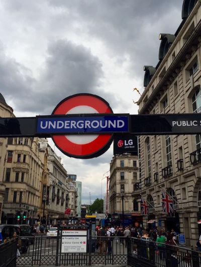 London Underground Tube Station
