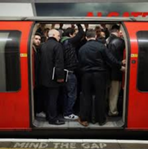 London Tube Mind The Gap!