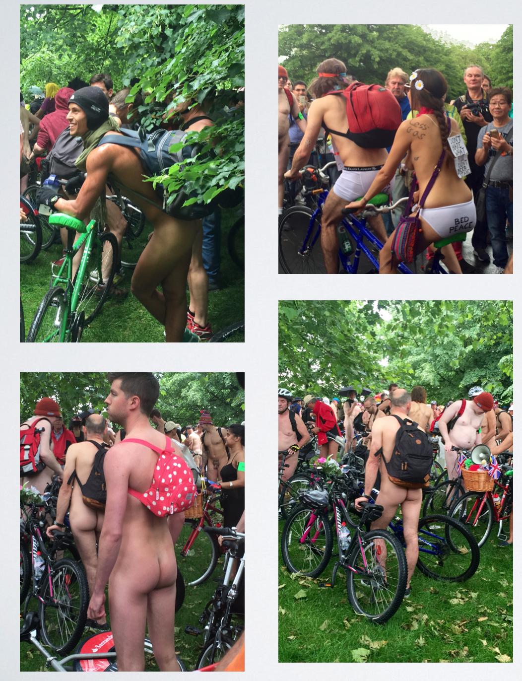 World Naked Bike Ride London 2016