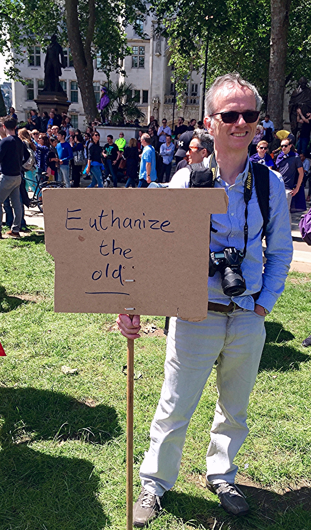March for Europe. Euthanize The Old.