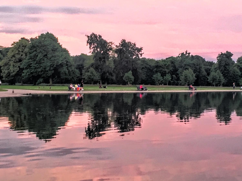 Hyde Park at Dusk